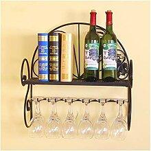 DZWLYX Flaschenregal Glashalter unter Schrank