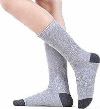 DZX Elektrische Beheizte Socken/Thermosocken,