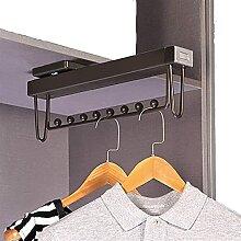 DZX Kleiderbügel, ausziehbarer Kleiderbügel aus