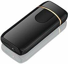 DZXUD USB-Feuerzeug-Plasma-Doppelbogen-winddichtes