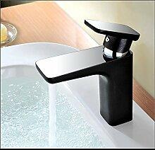 DZXYA Warme und kalte Tauchbecken Classic Single Loch auf dem Waschbecken Waschbecken Wasserhahn C