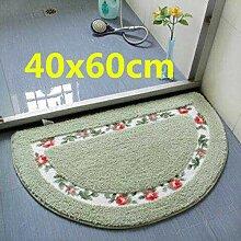 E/A Blume Badezimmer Anti-Rutsch-Teppich Super