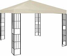 E E-NICES Pavillon 3×3 m Creme