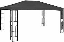 E E-NICES Pavillon 3×4 m Anthrazi