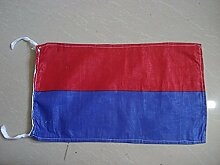 E International Maritime Signal Code Flagge, 100% Baumwolle, 20,3x 33cm–Marine/Nautical/Boo