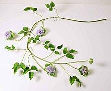 E+N Clematis-Ranke Kunst-Pflanze Kletter-Pflanze