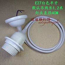 E14/E27 Lampe, Vintage Lampe, Schalter, Lampenfassung, farbige Lampe, Keramik Lampenfassung,O-E27