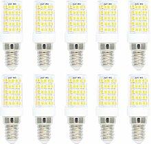 E14 Fassung 10W Dimmbar LED Lampe,3000K Warmweiß