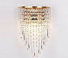 E14 Kristall Wandlampe, Modern Wandhalterung