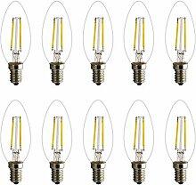 E14 LED Kerzenlicht 2W 4W 6W Warmweiss COB