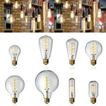 E27 Dimmable COB LED Weinlese Retro industrielle