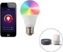 E27 dimmbare LED Lampe Wifi Smart mit App 9W 806lm