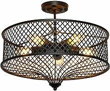 E27 Edison Deckenleuchte Retro Industriell Lampe