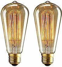 E27 Edison-Glühbirne, 40 W, Vintage-Lampe,