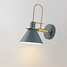 E27 Eisen Wandbeleuchtung Wohnzimmer, Nordische