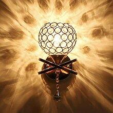 E27 Kristall Wandlampe, Bett Wandbeleuchtung