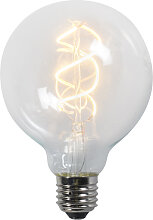 E27 LED Lampe G95 5W 300lm 2200K