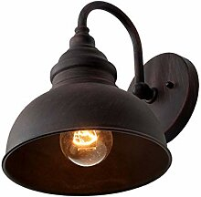 E27 Retro Industrial Wandleuchte Außen Wandlampe
