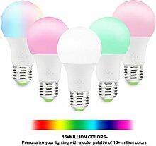 E27 Smart Wifi Bulb Dimmable Light Led Bulb