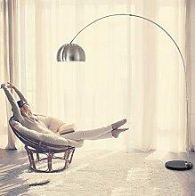 E27 Stehlampe Bodenlampe IP20 Stehleuchte Modern Deckenfluter Eisen Edelstahl Standleuchte Leselampe Schwenkbar Leseleuchte Tischleuchte