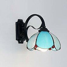 E27 Tiffany stil Wandlampe, Bett Wandbeleuchtung