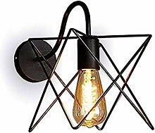 E27 Wandlampe aus Eisen Vintage Wandleuchte