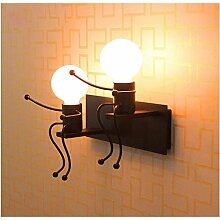 E27 Wandleuchte Wandlampe Effektlampe Flurlampe