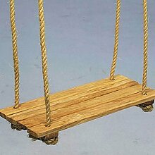 E358245 Brettschaukel mit Seil 40x16cm