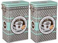 ea4chill Teedosen Set/Kaffeedosen Set/Gewürzdosen