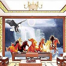 Eagle Falls Pferd für Wände Wandbilder Tapete