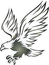 Eagle Schablone-wiederverwendbar Bird Animal