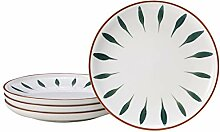 EAMATE 20,3 cm große Keramik-Teller, moderne