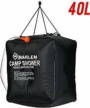 Earthily Solardusche Tasche - Campingdusche,40L