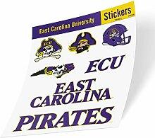 East Carolina University NCAA Aufkleber Vinyl