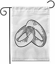 Eastlif 12,5 'x 18' Garten Flag Band