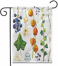 Eastlif 12,5 'x 18' Garten Flagge Aquarell