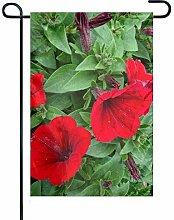 Eastlif Gartenfahne, doppelseitiger Garten Rote