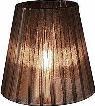 Eastlion 9 * 14 * 13cm Transparente Kerze