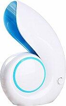 Eastlion Conch Mini Fan USB Ventilator Klimaanlage Ventilator für Schüler, Büro, zu Hause, Blau