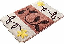 Eastlion Türmatten Badezimmer Anti-Rutsch Matten Küche Toilette Bodenbelag Haushalt Fußmatten,Stil 1,L 50*80cm