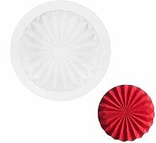 Easy Clean Silikon Kuchenform Wellige runde Form