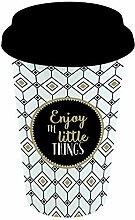 Easy Life 129TM05 Tasse, Porzellan