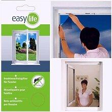 easy life Insektenschutzgitter für Fenster inkl.