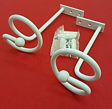 Easy-Shadow - 10 Stück Drapierhaken weiß für