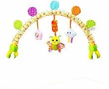 Easy-topbuy Kinderwagen Bogen Anhänger Spielzeug