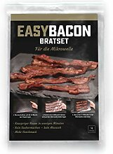 EASYBACON Frischer Knuspriger Bacon Mikrowelle in