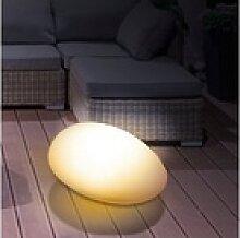 EASYmaxx Dekolicht, Solar-Leuchte Stein mit