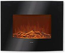 EASYmaxx Elektro-Wandkamin mit Flammeneffekt -
