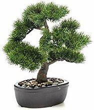 Easyplants Kunst Bonsai Pinus 32cm im Topf