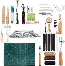 Eather Craft Handwerkzeug, 50 Stück Leder
